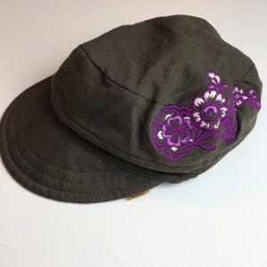 Athleta Hat with Flower